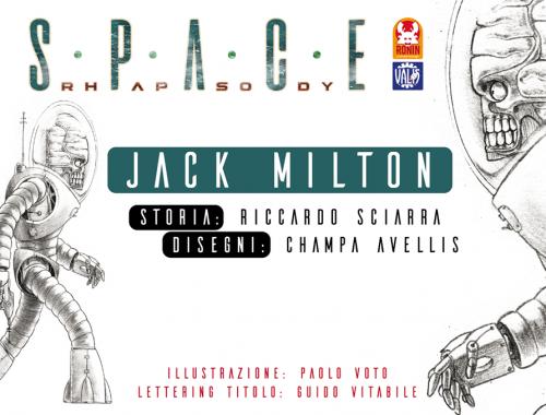Space Rhapsody #1 - Jack Milton 7 - fanzine