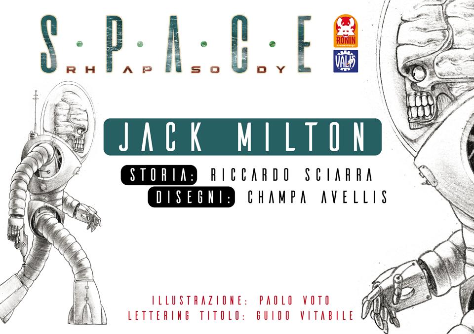 Space Rhapsody #1 - Jack Milton 1 - fanzine