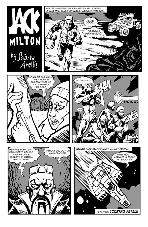 Space Rhapsody #1 - Jack Milton 3 - fanzine