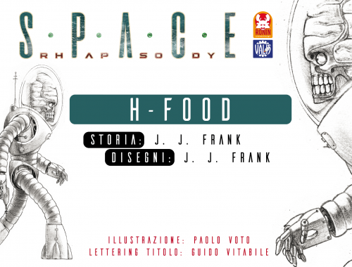 Space Rhapsody #3 - H-Food 4 - fanzine