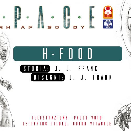 Space Rhapsody #3 - H-Food 3 - fanzine