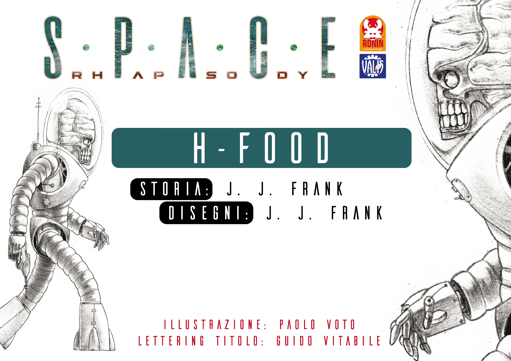 Space Rhapsody #3 - H-Food 3 - fanzine