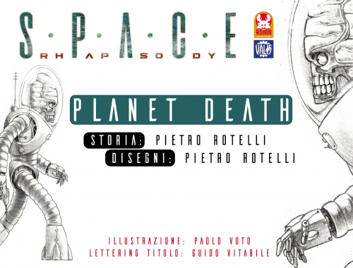 Space Rhapsody #4 - Planet Death 11 - fanzine