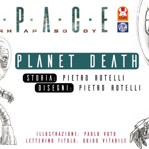 Space Rhapsody #4 - Planet Death 1 - fanzine