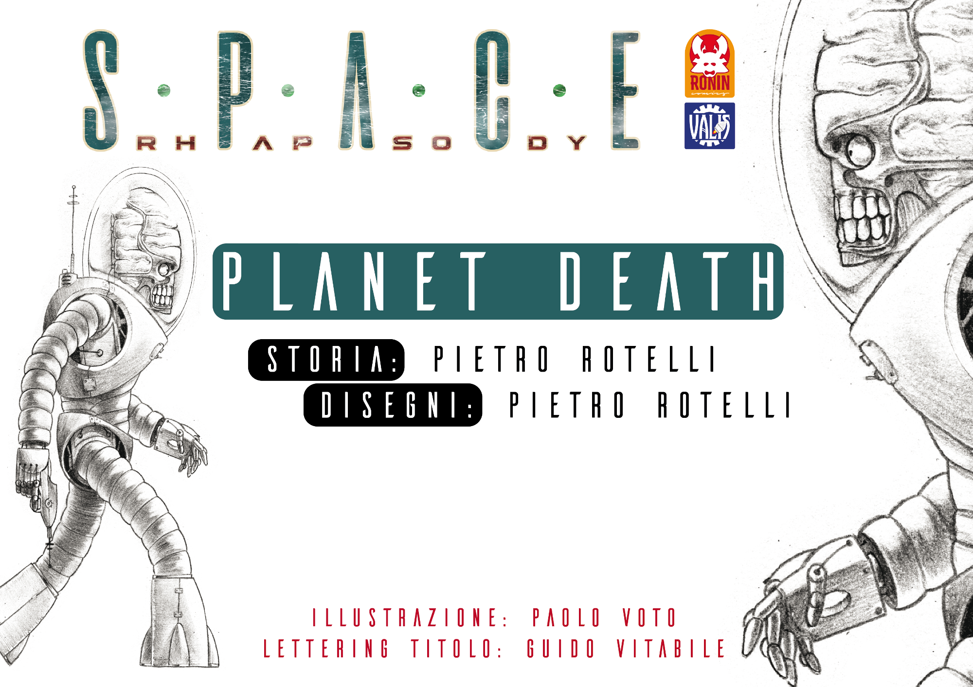 Space Rhapsody #4 - Planet Death 3 - fanzine