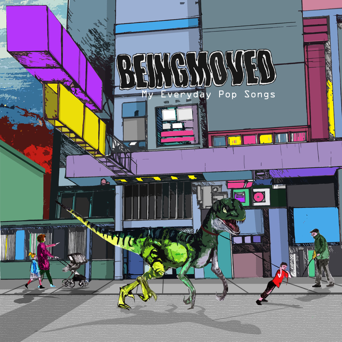 Beingmoved - My Everyday Pop Songs 1 - fanzine