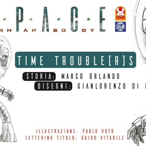 Space Rhapsody #5 - Time Trouble(r)s 11 - fanzine