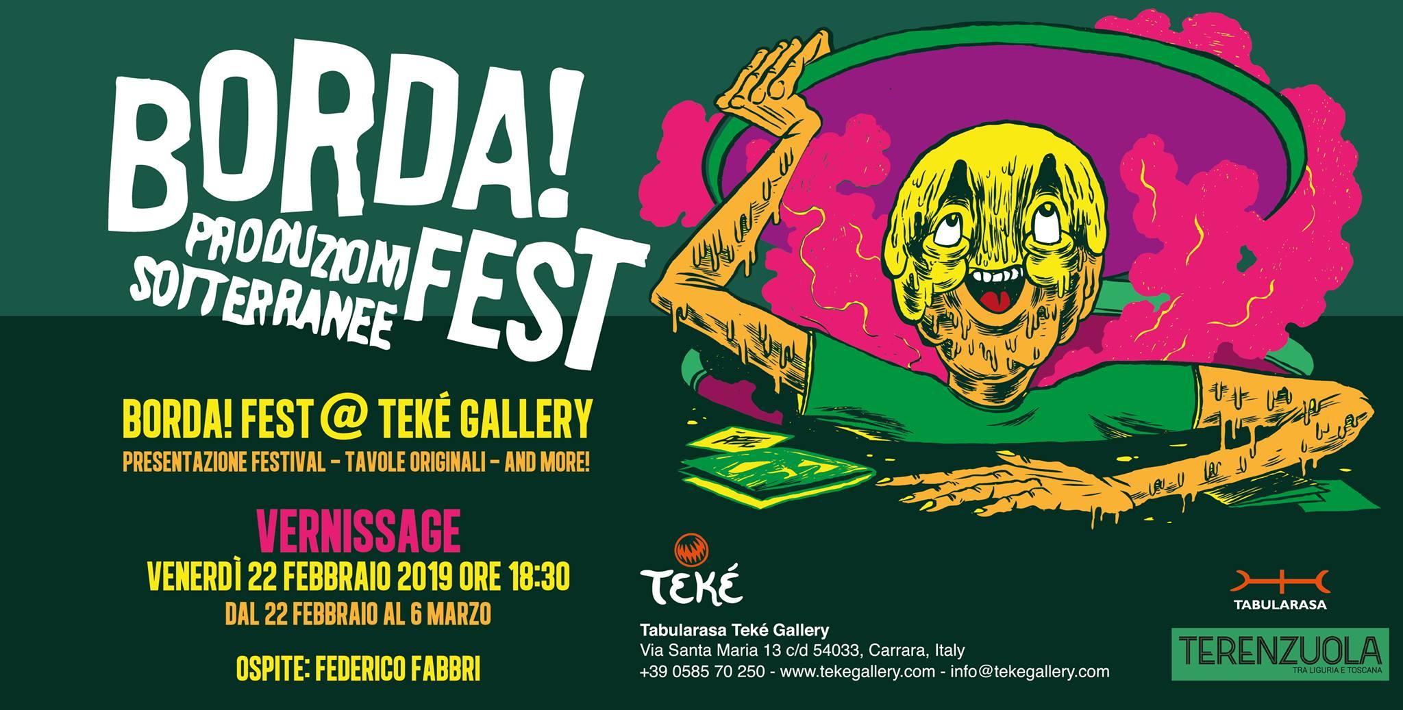 Borda!Fest 1 - fanzine