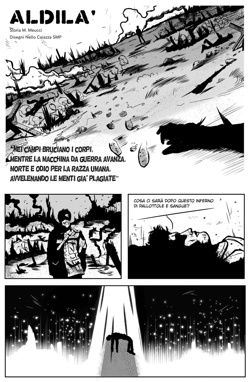 Space Rhapsody #6 – Aldilà 4 - fanzine