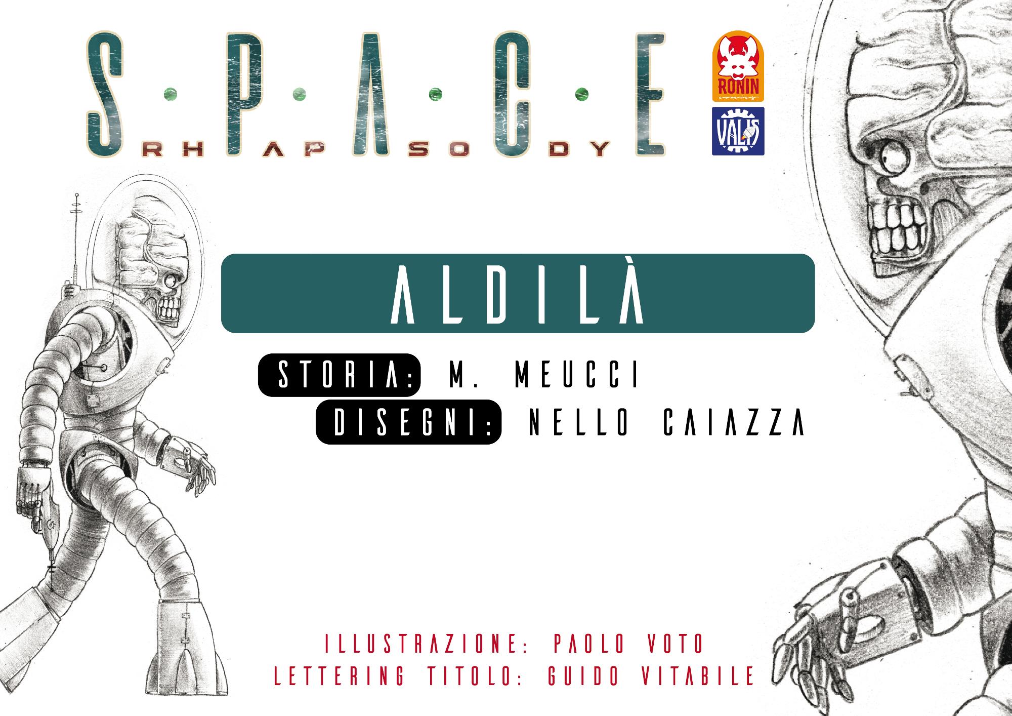 Space Rhapsody #6 – Aldilà 3 - fanzine