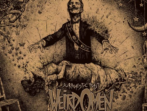WEIRD OMEN – SURREALISTIC FEAST (DIRTY WATER RECS-2019) 4 Iyezine.com