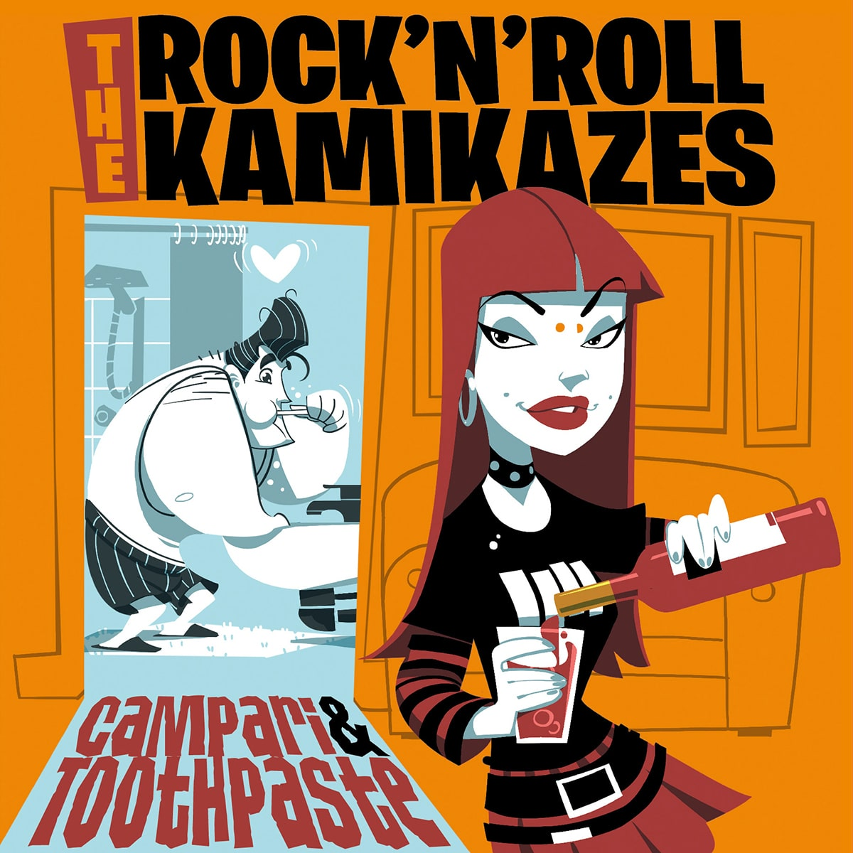 The Rock'n'Roll Kamikazes - Campari & Toothpaste 1 - fanzine