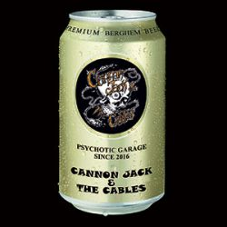 "Cannon Jack & the Cables - Primitivo / Big Bad Monkey Man 7"" 2 - fanzine"