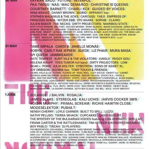 Primavera Sound 2019: orari, mappa dei palchi e programma complementare 5 - fanzine