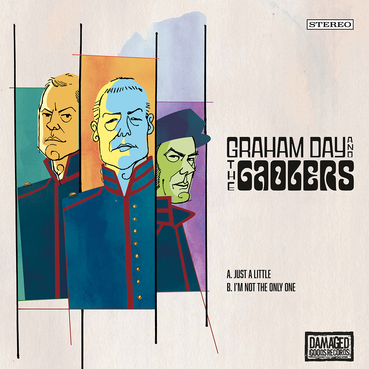 Graham Day and the Gaolers - Just a Little 1 - fanzine