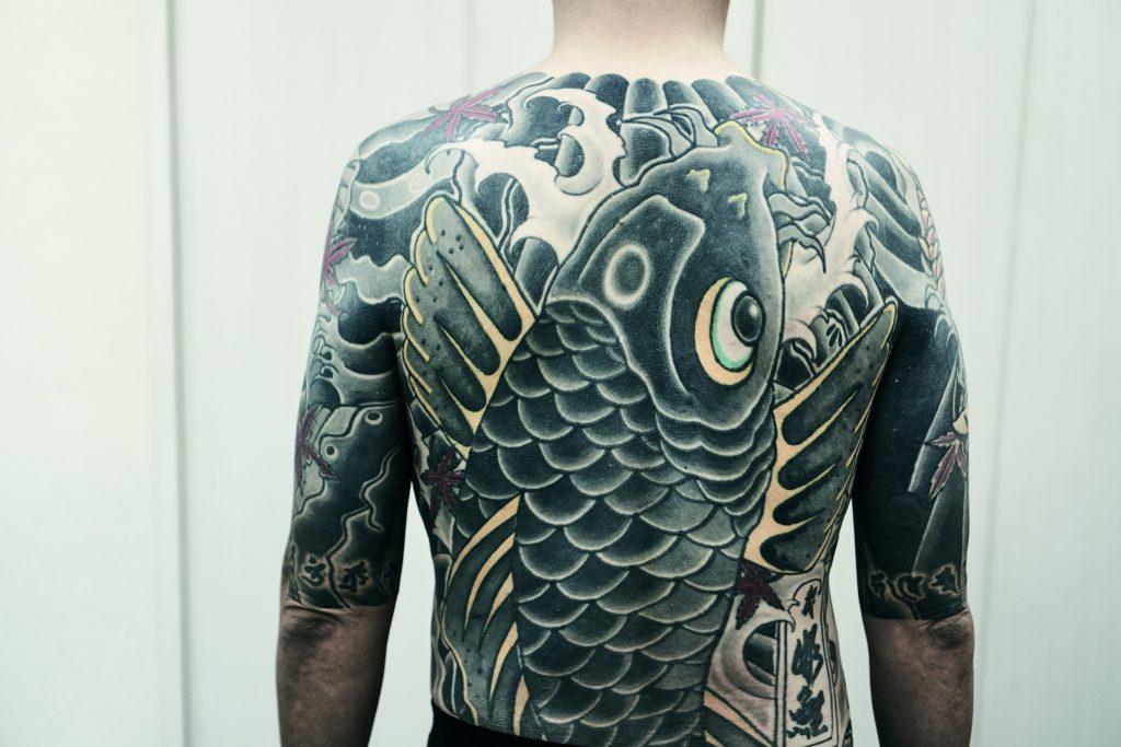 Yakuza Tattoo di Andreas Johansson 1