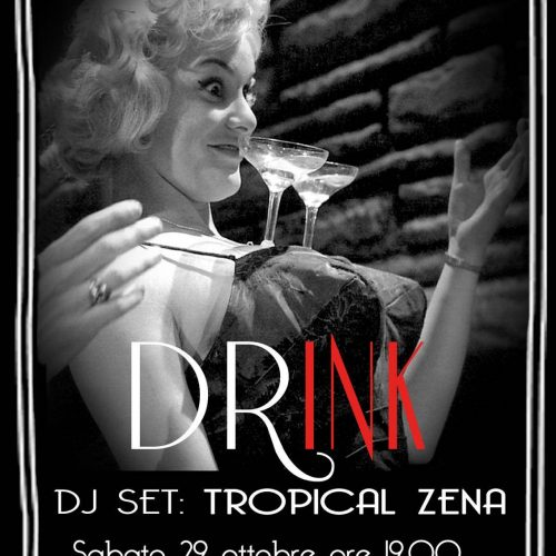 DRink // AFRO BEAT and TATTOO PARTY 3 - fanzine