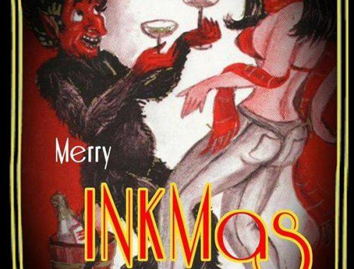 Merry Inkmas // vinyl Dj 2 - fanzine