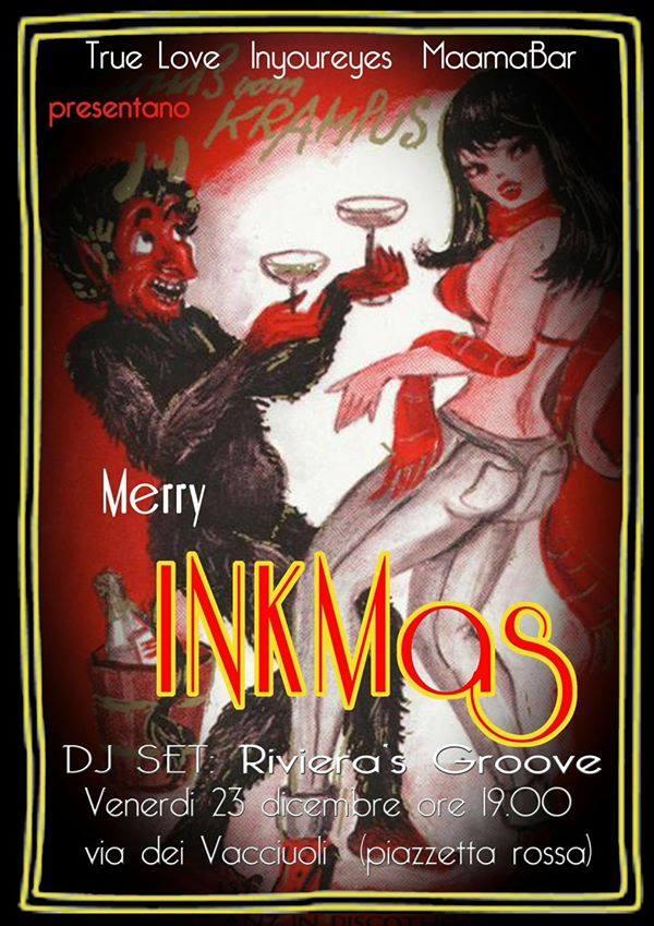 Merry Inkmas // vinyl Dj 1 - fanzine