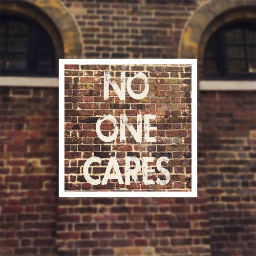 Elizabeth The Second - No One Cares 3 - fanzine