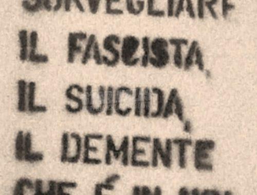 LO SFASCIO DEI MASS-MEDIA 5 - fanzine