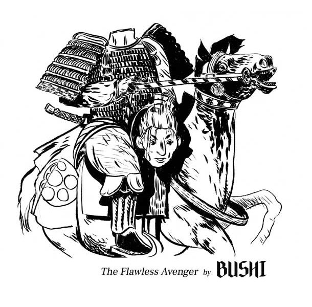 BUSHI  -  THE FLAWLESS AVENGER 6 - fanzine