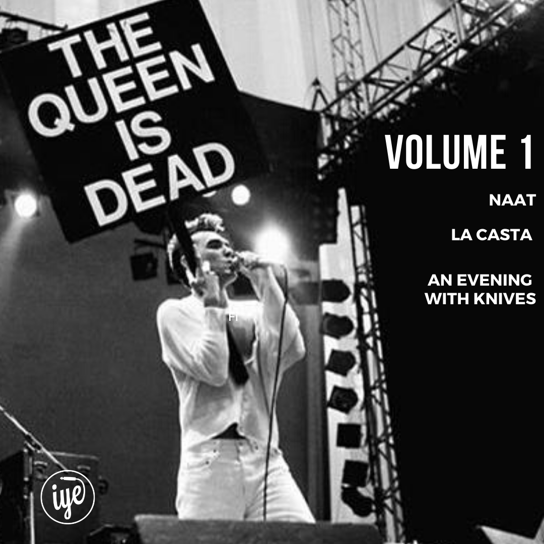 THE QUEEN IS DEAD vol.1 1 - fanzine