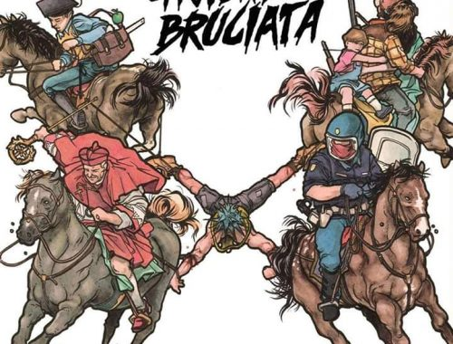 Gioventù Bruciata Quartered 5 - fanzine