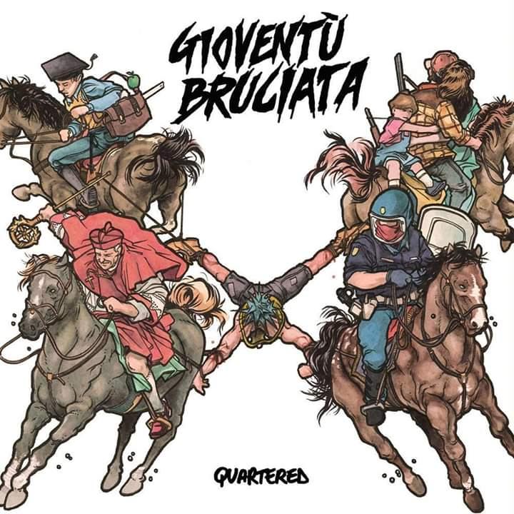 Gioventù Bruciata Quartered 1 - fanzine