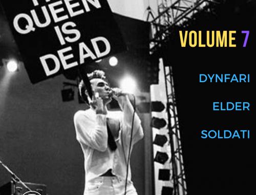 THE QUEEN IS DEAD VOLUME 7 3 - fanzine