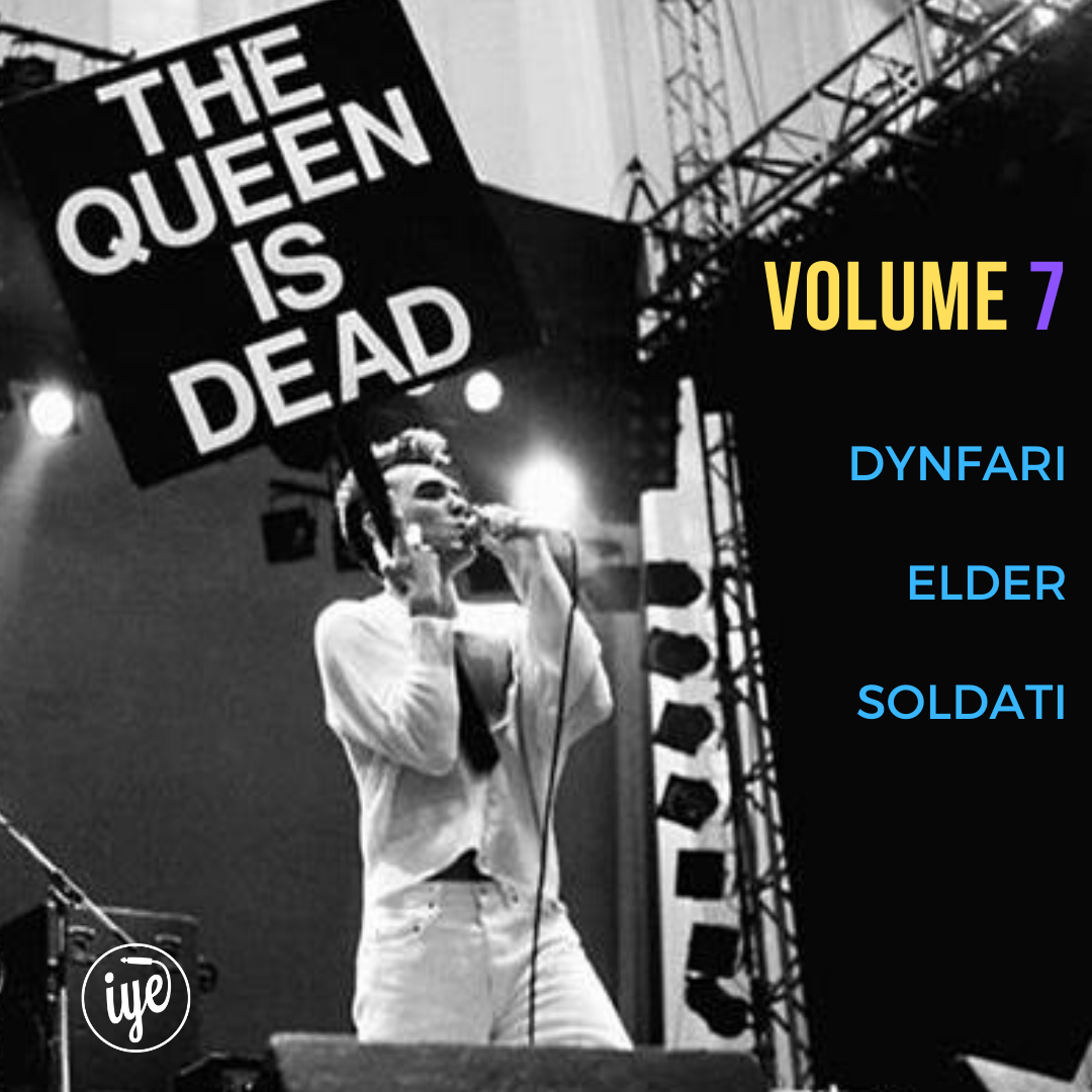 THE QUEEN IS DEAD VOLUME 7 1 - fanzine