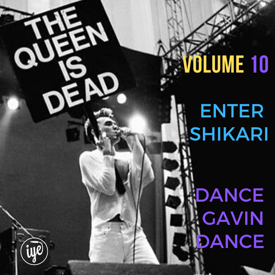 THE QUEEN IS DEAD VOLUME 10 3 - fanzine