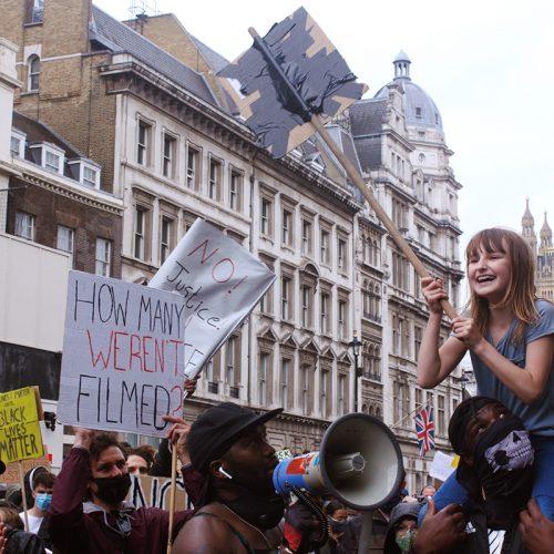 Parliament Square 07.06 Tracy, 9 anni ci insegna ad urlare contro le ingiustizie