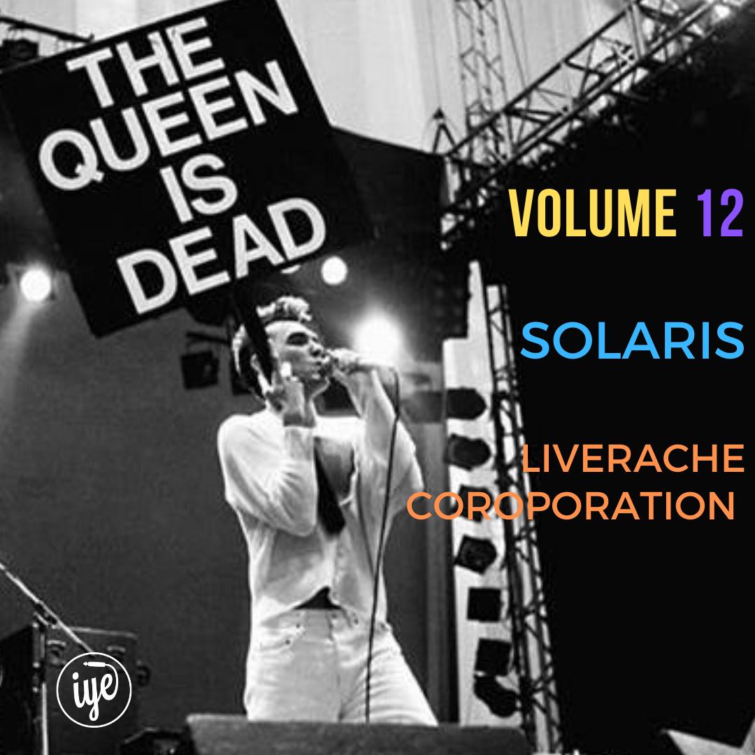 THE QUEEN IS DEAD VOLUME 12 1 - fanzine
