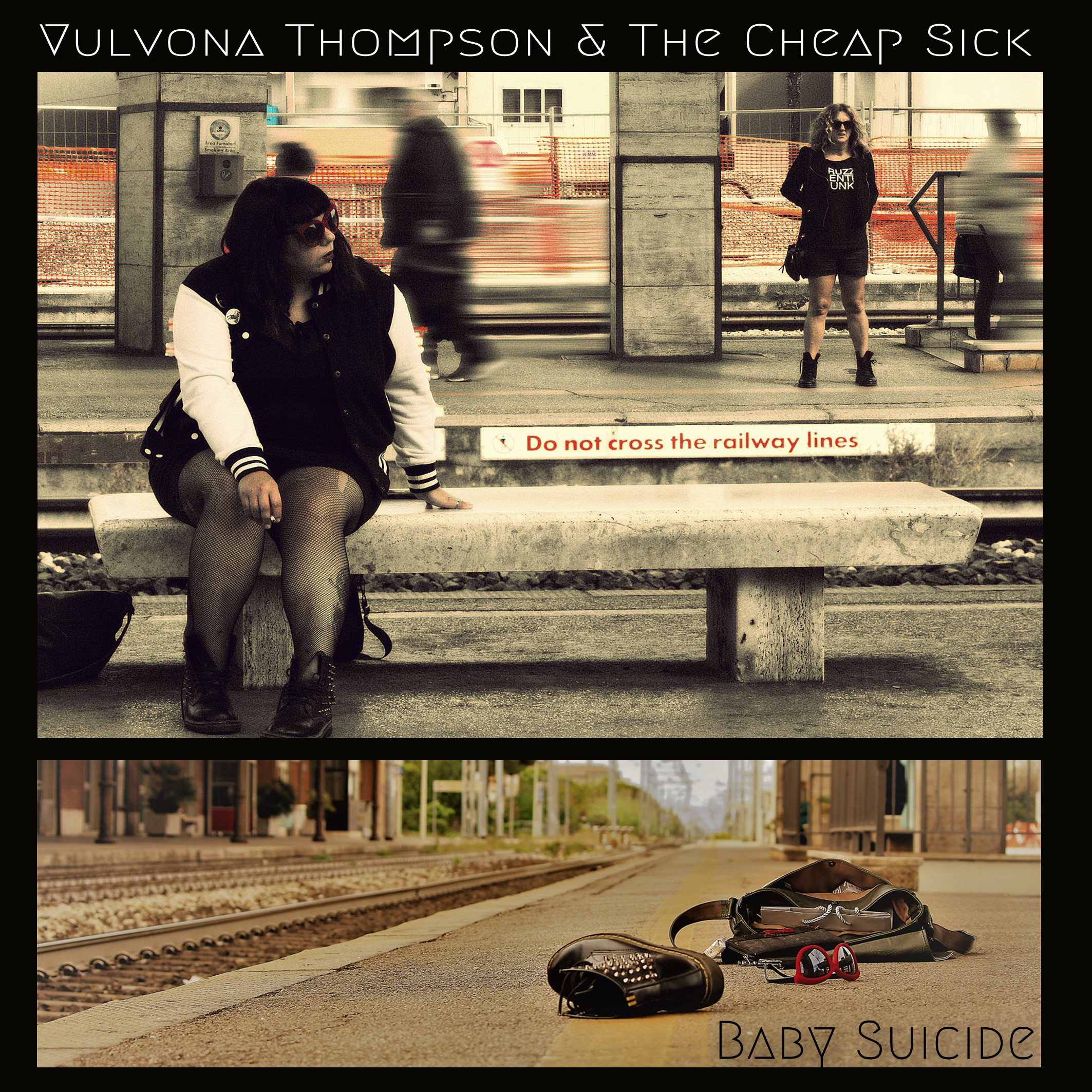 Vulvona Thompson & the Cheap Sick - Satan / Baby Suicide 1 - fanzine