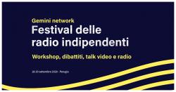 Gemini Festival il primo network di radio indipendenti