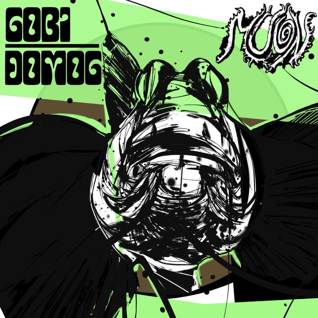 Copertina: Gobi Domog della band Muon 2 - fanzine