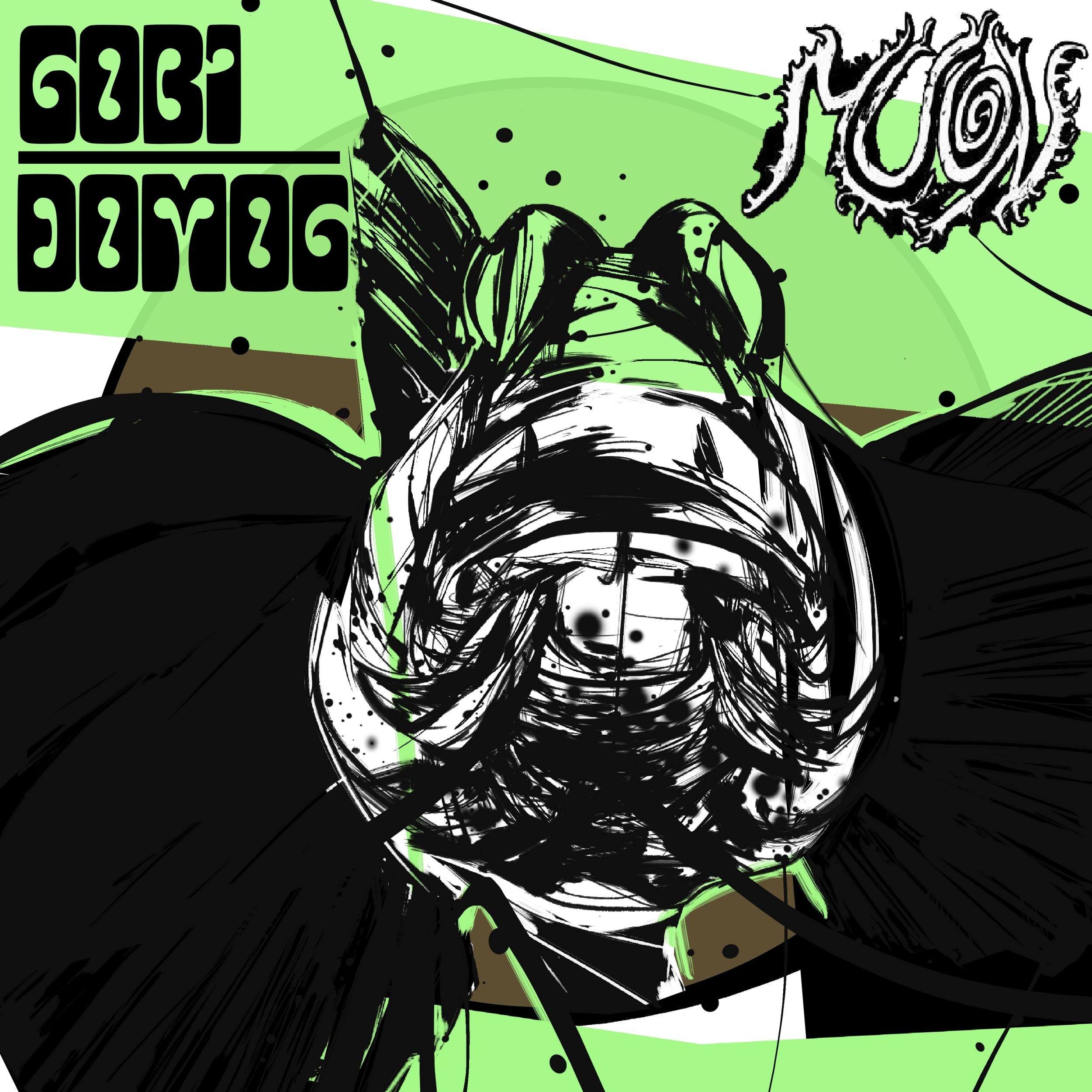 Copertina: Gobi Domog della band Muon 1 - fanzine
