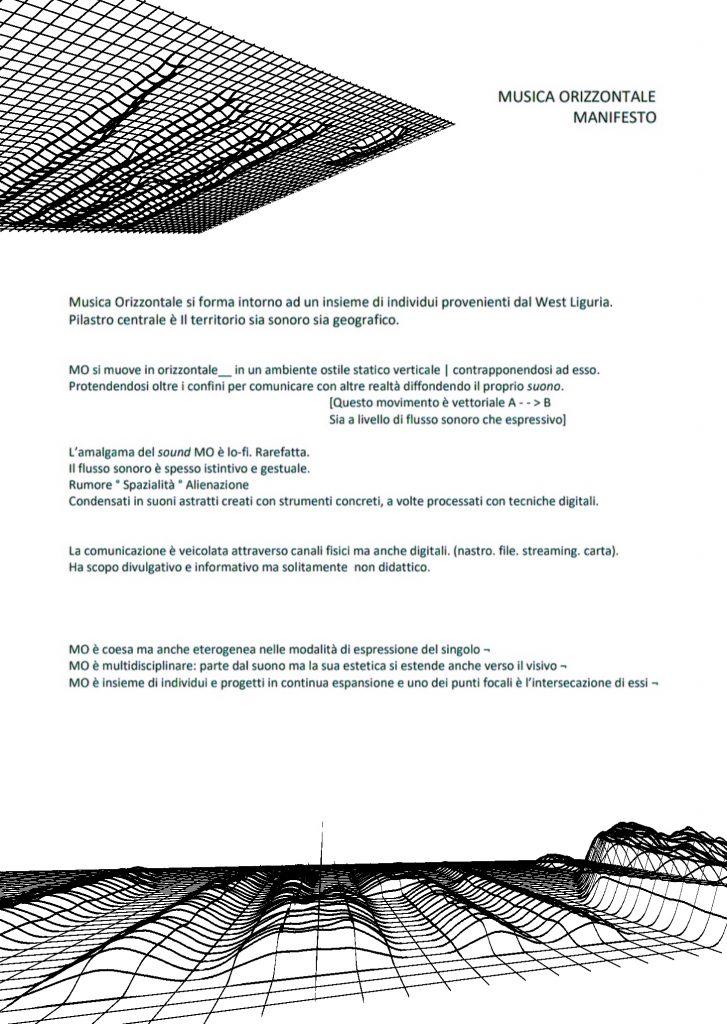 MUSICA ORIZZONTALE 4 - fanzine