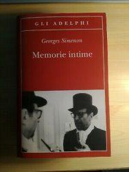 """Memorie intime"" di Georges Simenon"