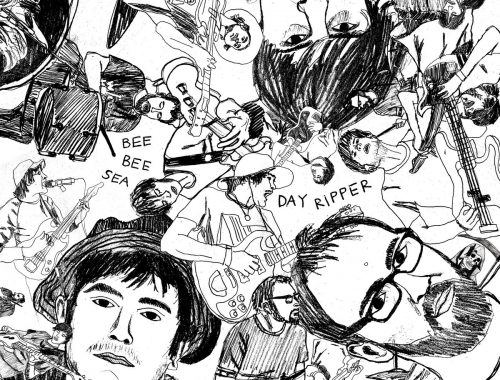 Bee Bee Sea – Day Ripper 4 - fanzine