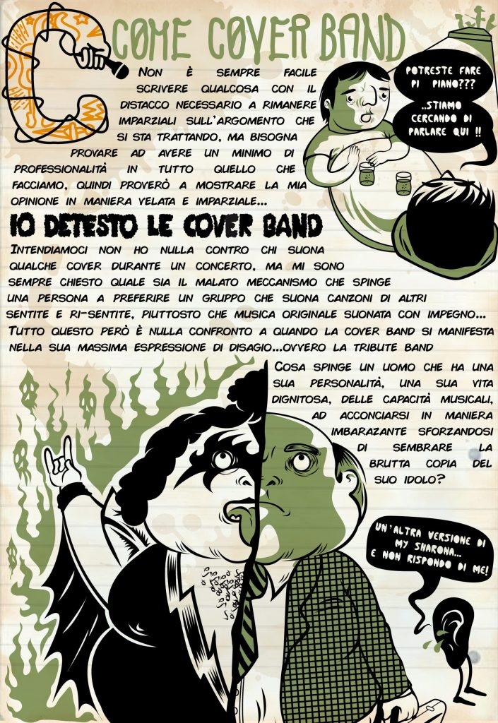 Alfabeto C come Coverband ! 4 - fanzine