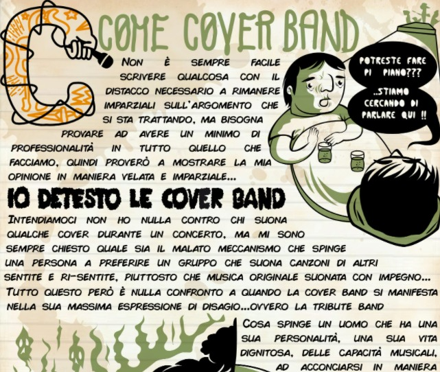 Alfabeto C come Coverband ! 2 - fanzine