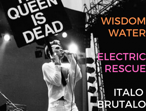 THE QUEEN IS DEAD VOLUME 22 - WISDOM WATER  ELECTRIC RESCUE  ITALO BRUTALO 2 - fanzine