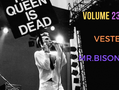 THE QUEEN IS DEAD VOLUME 23 - Vesta Mr.Bison 1 - fanzine