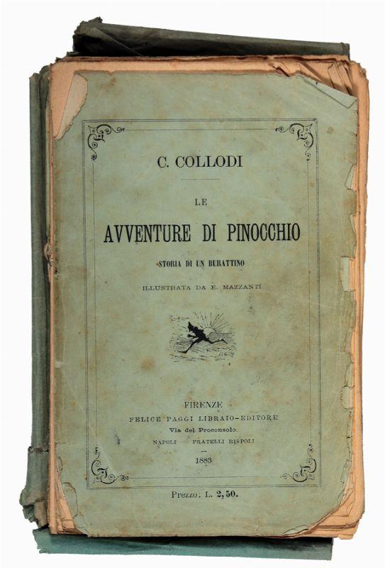 #Rileggiamo : Le avventure di Pinocchio. Storia di un burattino di Carlo Collodi 1 - fanzine