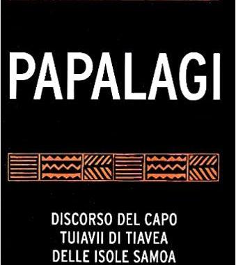Papalagi del Capo Tuiavii di Tiavea delle Isole Samoa