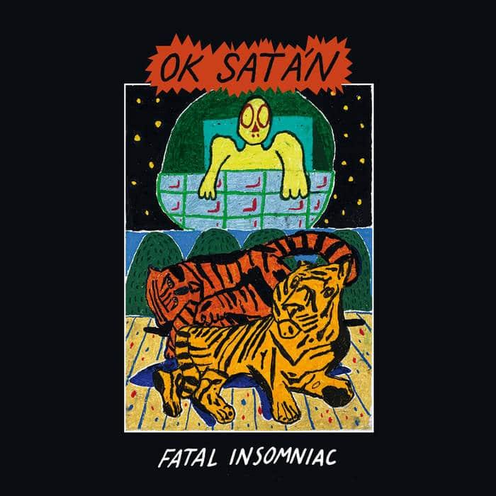 "Ok Satàn ""Fatal Insonnia"" tape-Phantom Records"