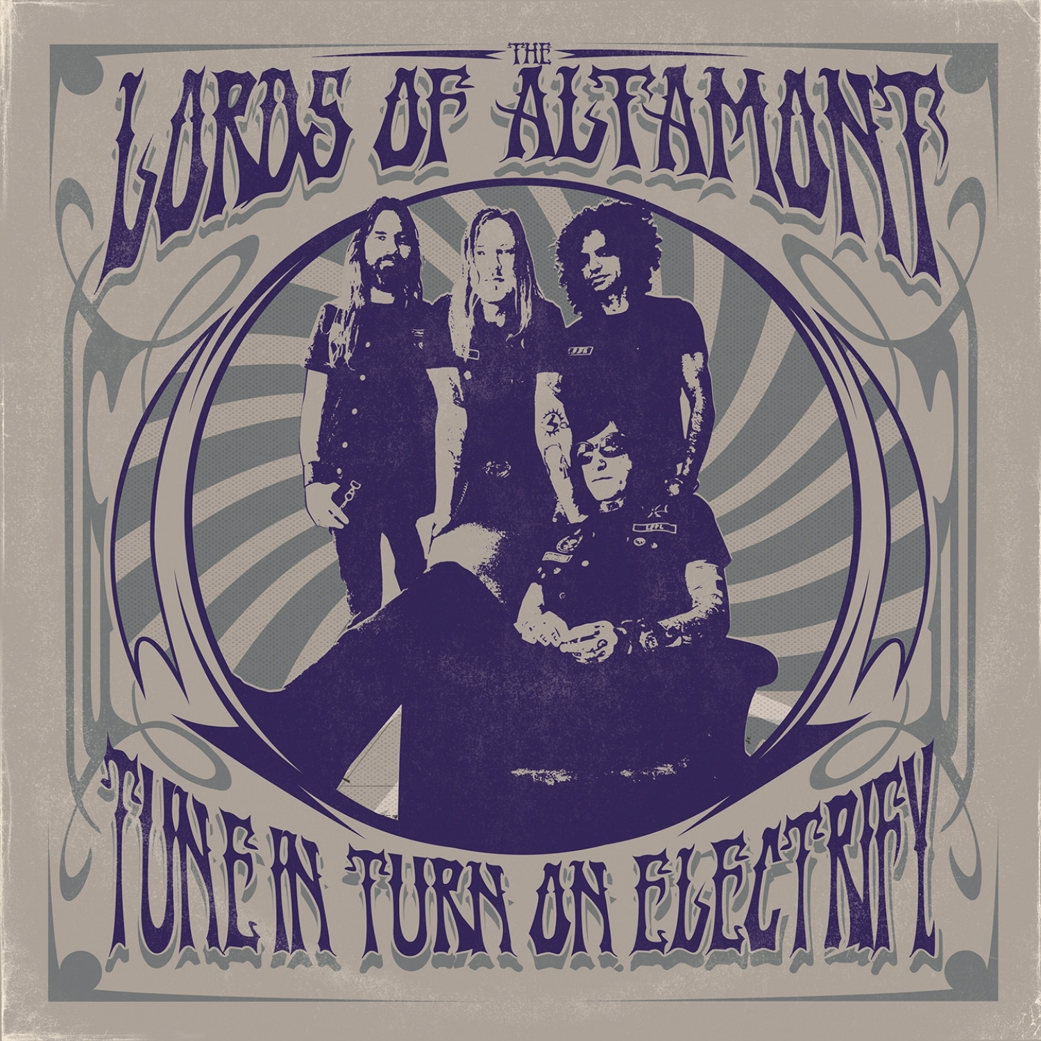 """Lords Of Altamont-""""Turn in, Turn on, Electrify!""""-2021, Heavy Psych Sounds 4 - fanzine"""