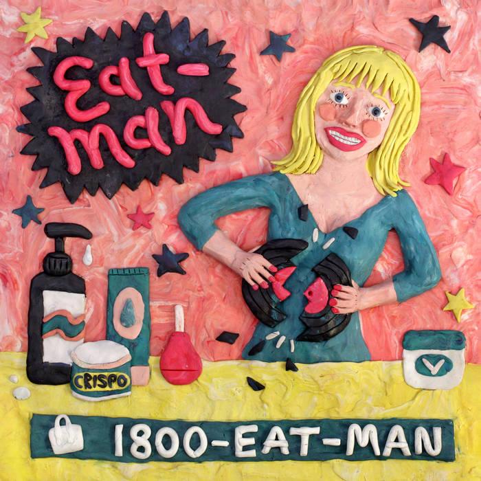 "Eat-Man ""1800-EAT-MAN"" 10""-Autoprodotto 1 - fanzine"